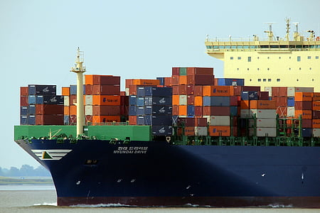 container, ship, charge, freighter, cargo, shipping, transport