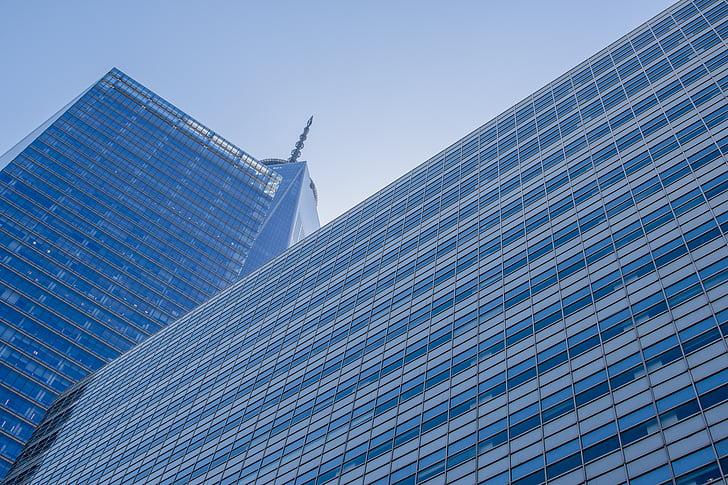 architecture, building, city, glass, high-rise, skyscraper, windows