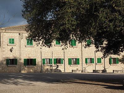 kloster cura, Cura, Algaida, byggnad, arkitektur, Santuari de nostra senyora de cura, kloster