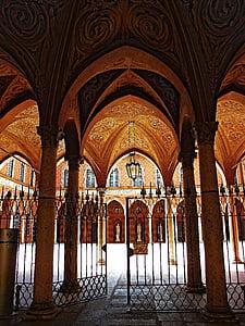 arc, arquitectura, edifici, pilars, l'interior, renom, estructura de construcció
