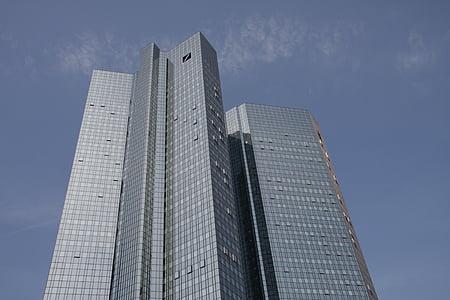 Frankfurt, City, pilvelõhkuja, büroohoone, arhitektuur