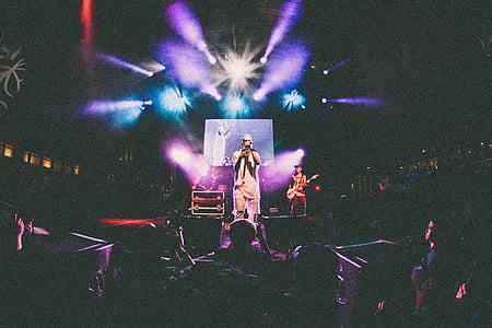 band, concert, singer, musician, performance, entertainment, rock concert