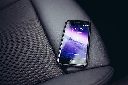 яблуко, цифрові, iPhone 6, макет, екран, смартфон, Технологія