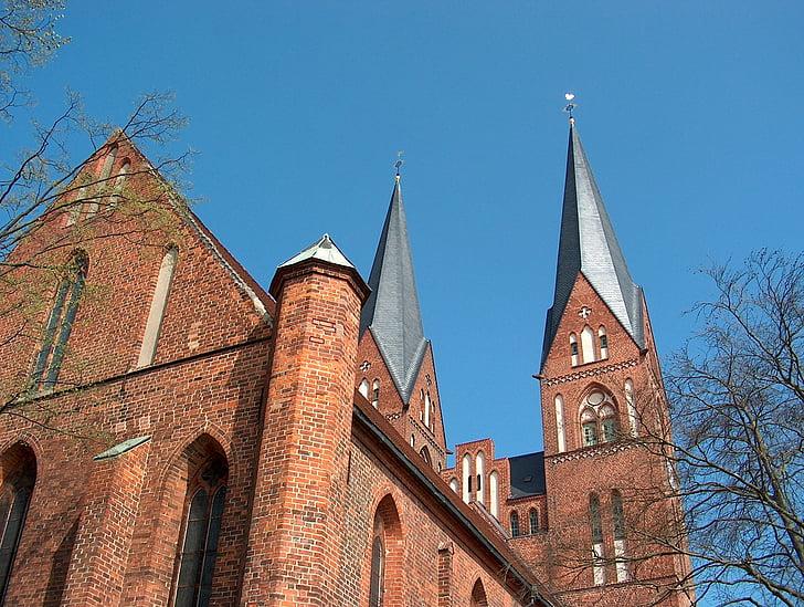 neuruppin, monastery church, church