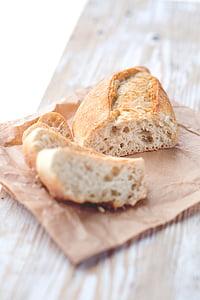 leib, toidu, Cooking, puit - materjal, värskuse, Päts leiba, viil