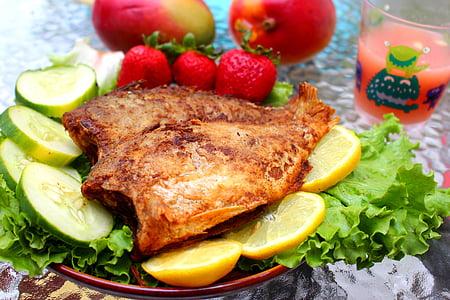 peix, aliments, recepta, Restaurant, dinar, àpat, deliciós