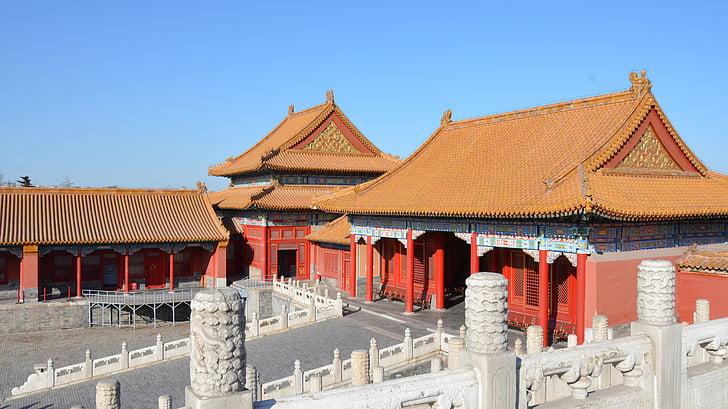 china, pekin, forbidden city beijing, beijing, forbidden city, architecture, palace