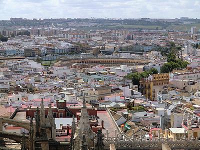 Sevilla, staden, gamla, Visa, arkitektur, Europa, byggnad