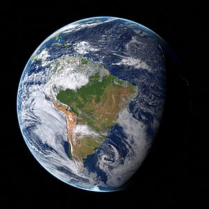 terra, planeta, espai, cosmos, globus, l'astronomia, còsmica