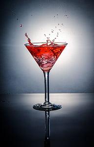 còctel, beguda, Martini, begudes, l'alcohol, barra, Ginebra