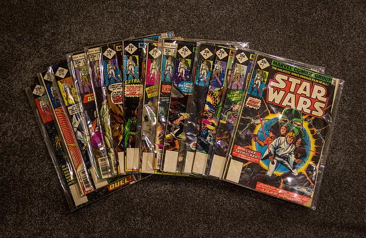 sarjakuvia, Marvel Comicsin, kokoelma, Vintage, Tähtien sota