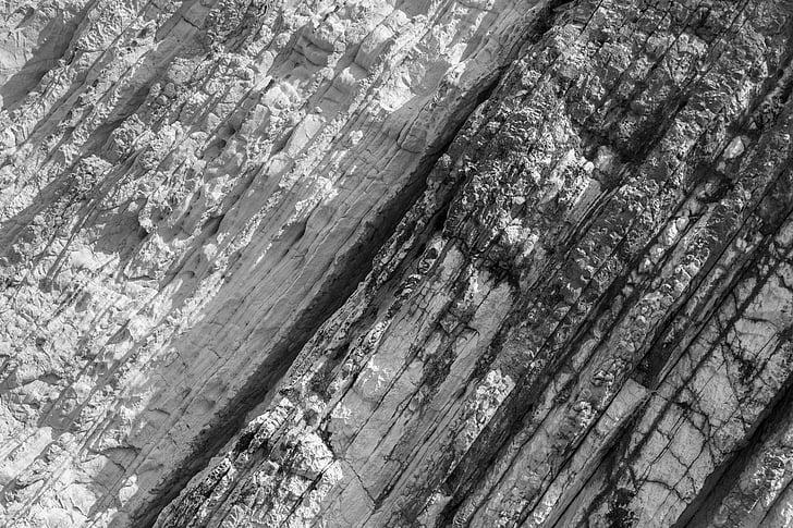 Rock, maquette, Pierre, géologie, bois - matériau, texturé, Rough