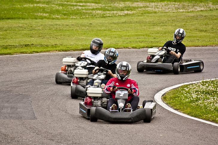 kart, anar kart, pista de carreres, kàrting, anar de kart, cursa de karts, instal·lació esportiva de kart exterior