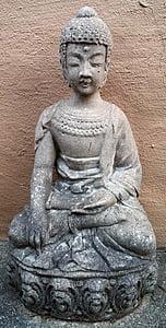 socha, Buddha, náboženství, Buddhismus, meditace, sochařství, duchovní