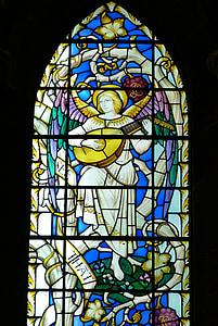 窗口, 教会的窗口, 教会, 宗教, 基督教, 信心, 彩色玻璃