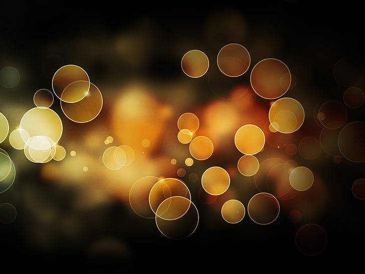 boles, llum, flotant, vidre, imatge de fons, decoració, bola de vidre