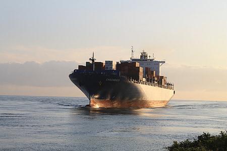 fraktfartyg, lastfartyg, industrin, hamn, varor, transport, Cargo