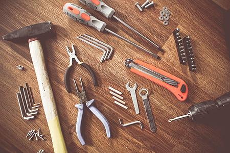 ツール, 構築します。, クラフト, 修理, 機器, 作成します。, 建設
