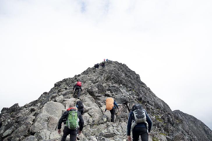 adventure, backpacker, climb, hike, hikers, hiking, mountain