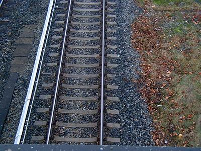 rail, train, track, railway tracks, gleise, seemed, rail traffic
