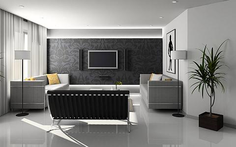menjador, disseny d'interiors, mobles, l'interior, Apartament, decoració, Habitació interior