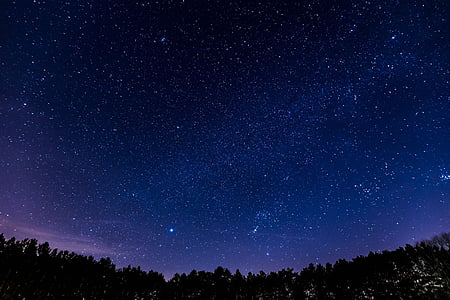 étoiles, constellation, Sky, ciel nocturne, astronomie, Cosmos, galaxie