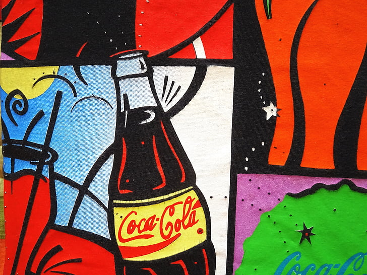 Coca cola, disfrutar de, bebida, Coca Cola, American, frío, taza