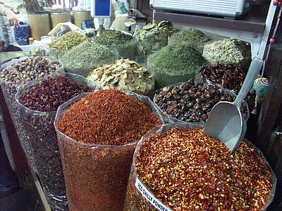 Dubai, thị trường, gia vị, Mua sắm, nấu ăn, kỳ lạ, phương đông