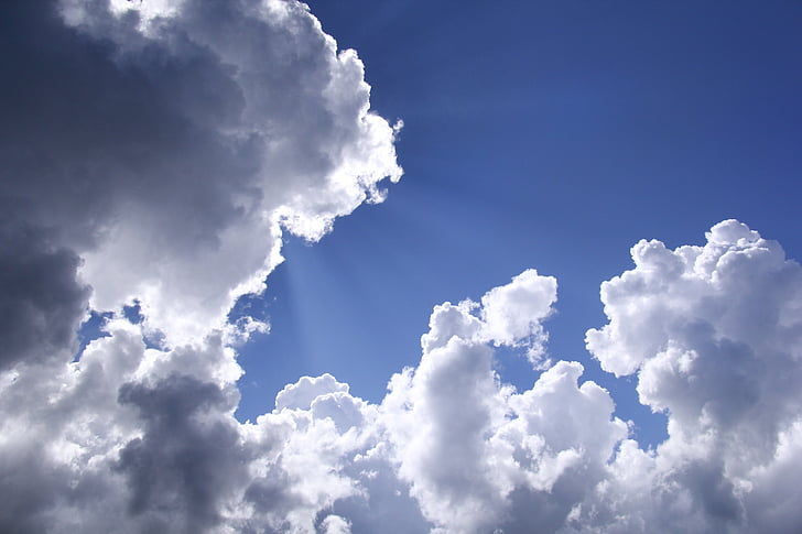 nor alb, cer, cer frumos, nor - cer, fundaluri, vremea, Cloudscape