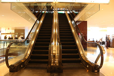 Thang cuốn, cầu thang, cầu thang, cầu thang, bước, đi bộ, cách