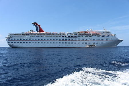 kryssning, fartyg, resor, kryssningsfartyg, Ocean, semester, havet