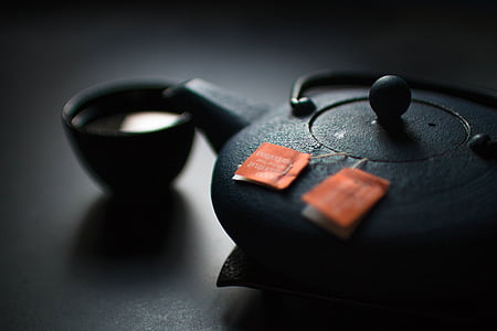 napitak, Crna, kup, piće, čaj, teabags, šalica za čaj