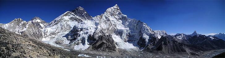 เมาท์เอเวอเรสต์, เทือกเขาหิมาลัย, nuptse, lhotse, ชาติสคารมถะ, qomolangma, chomolungma