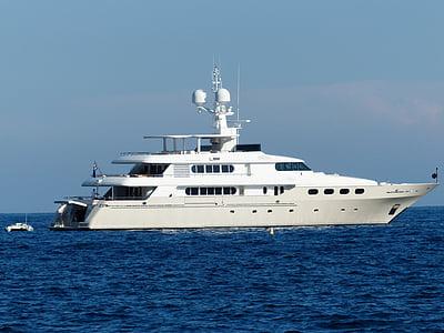 Yacht, Boot, fartyg, motorbåt, Yachts, havet, sjön