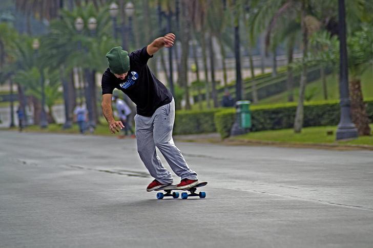 ván trượt, thể thao, Ipiranga, Tony halk, độ dốc, longboard, hoạt động ngoài trời