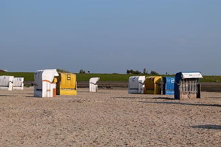 scaun de plaja, mare, vacanta, vara, soare, nisip, coasta