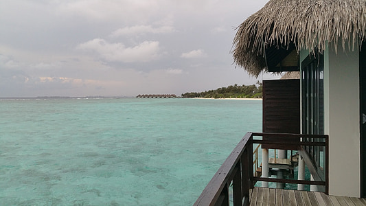 Maldives, vacances, platja, sol, l'estiu, illa, viatges