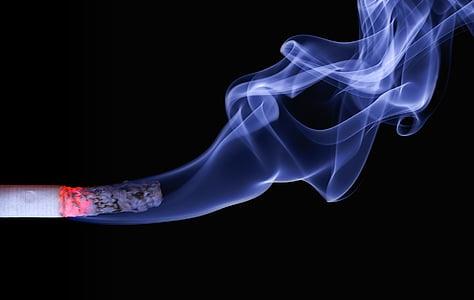 sigarett, røyk, embers, Ash, brenner, brenning, røyking