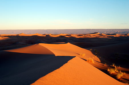 Maroko, Afrika, poušť, snowboardista, sport, písek, Soledad, mírové