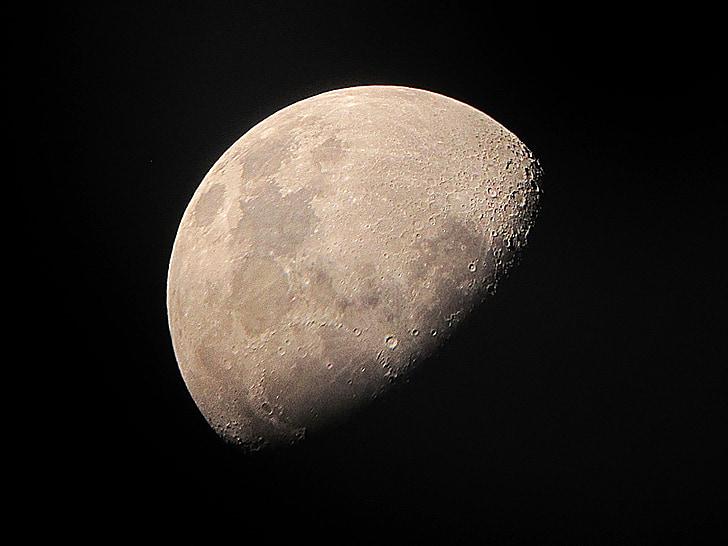 місяць, вночі місяця, астрономія