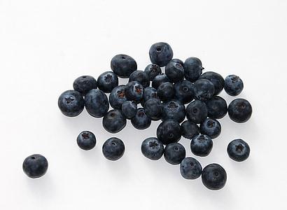 borovnica, voće, hrana, bobica, zdravlje, zrela, svježinu