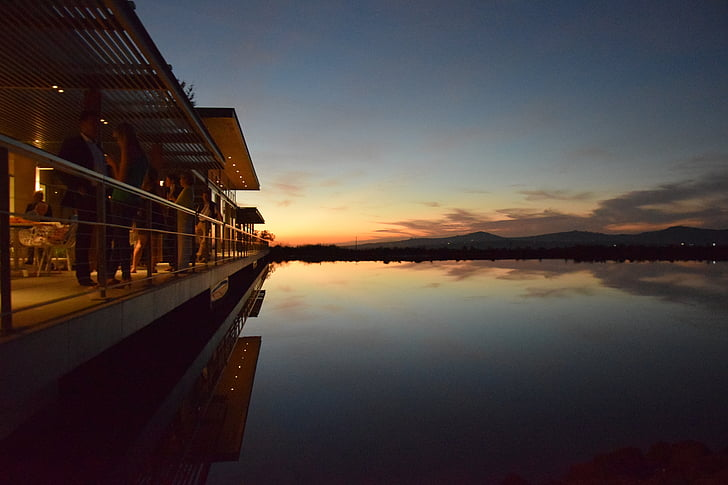 Sud-àfrica, Restaurant, oasi, Llac, tranquil