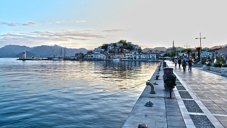 Marine, tengerre strand, kék, természetes Törökország, természetes, Törökország
