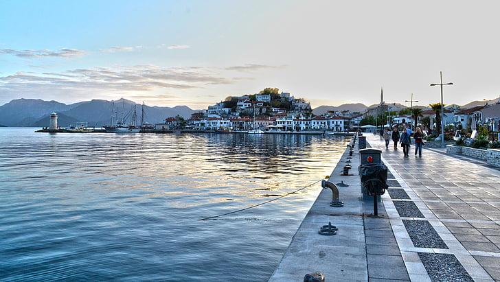 jūras, jūras pludmale, zila, dabas Turcijā, fiziska, Turcija