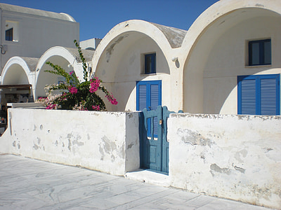 Santorini, Grčki otok, Grčka, marinac, Prikaz ulice, Oia