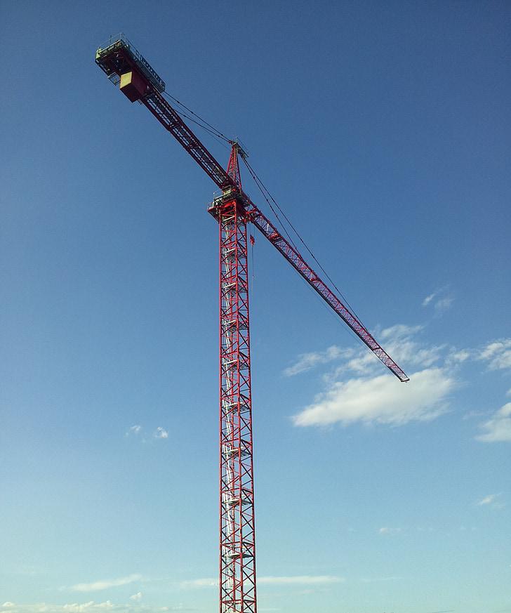 Toronydaru, daru, torony, építési, berendezések, munka, Lift