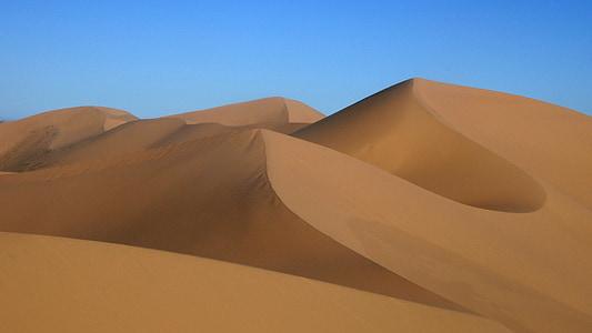 Mông Cổ, phong cảnh sa mạc, Gobi, cồn cát, sa mạc, Cát, Thiên nhiên