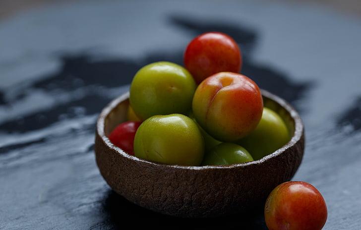 tranquil, fruita, brillant