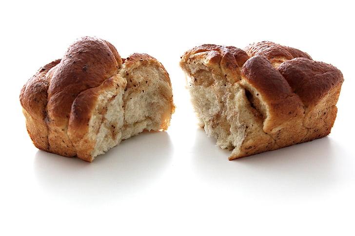 leib, vormi leiba, Küpseta, kuklid, jagatud leib