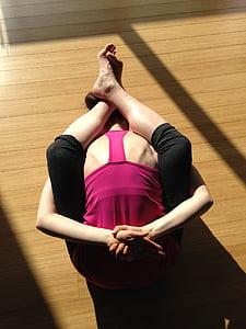 yoga, flexibility, health, female, yoga woman, yoga class, yoga pose